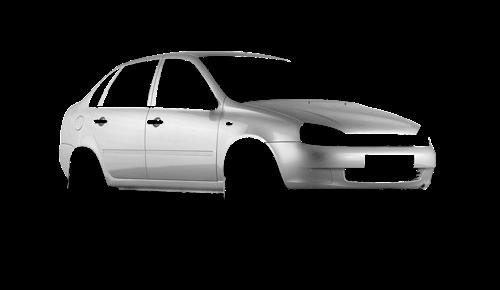 Цвета кузова Lada Kalina 1118