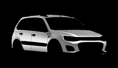 Цвета кузова Lada Kalina 1117 Cross