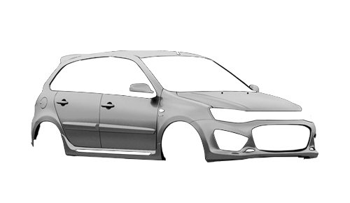 Цвета кузова Lada Kalina 1119 Sport